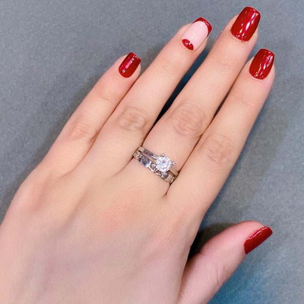 انگشتر زنانه نقره عیار 925