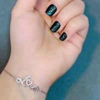 دستبند زنانه نقره عیار 925